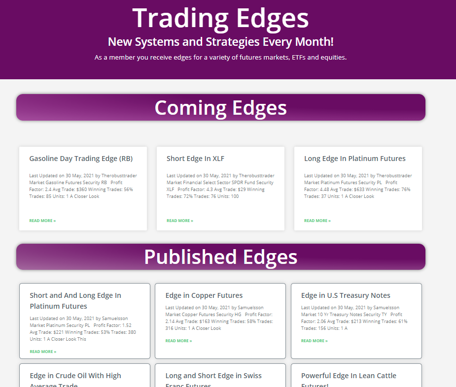 Trading Edges and Strategies - The Most Important Thing You Will Ever Learn about as a Trader